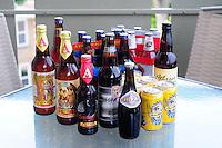 Several varieties of Beer.