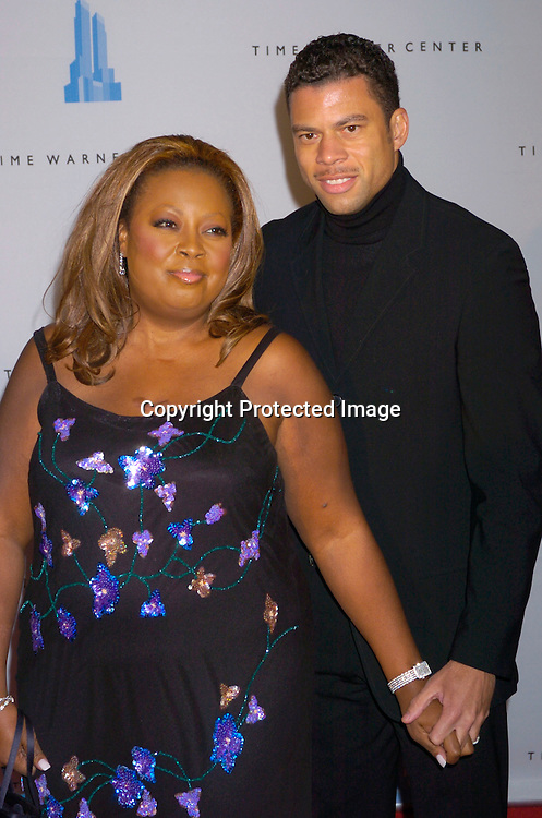 Star Jones and Al Reynolds..at the grand opening of the Time Warner Center in New York City on February 4, 2004. Photo by Robin Platzer, Twin Images