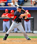 4 March 2011: Atlanta Braves infielder Brooks Conrad in action during a Spring Training game against the Washington Nationals at Space Coast Stadium in Viera, Florida. The Braves defeated the Nationals 6-4 in Grapefruit League action. Mandatory Credit: Ed Wolfstein Photo