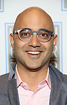 Ayad Akhtar attends the Opening Night Performance press reception for the Lincoln Center Theater production of 'Oslo' at the Vivian Beaumont Theater on April 13, 2017 in New York City.