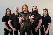 Jul 24, 2011: DREAM THEATER - Photosession at High Voltage Festival London