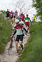 2106/15<br /> <br /> To rough  to ride near HArtington.<br /> <br /> Three Thousand cyclists riding vintage machines, all older than 1987, take to the hills of the Peak District in Derbyshire, as part of the Eroica Britannia Festival held in Bakewell this weekend.<br /> <br /> All Rights Reserved: F Stop Press Ltd. +44(0)1335 418629   www.fstoppress.com.