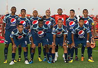 27 July 2010: Starting Eleven for Club Deportivo Motagua during a CONCACAF Preliminary game between Club Deportivo Motagua and Toronto FC at BMO Field in Toronto..Toronto FC won 1-0....
