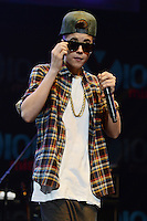 Justin Bieber performs onstage during the Y100's Jingle Ball 2012 at the BB&T Center on December 8, 2012 in Miami.  Photo: mpi/NortePhoto.com