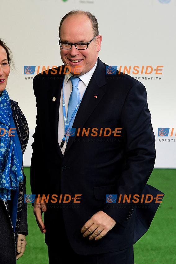 Alberto II di Monaco<br /> Parigi 30-11-2015 <br /> COP21 Conferenza sui cambiamenti Climatici Paris Climate Conference <br /> Foto JB Autissier Panoramic / Insidefoto