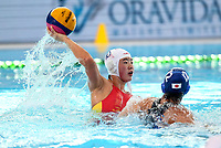 China v Japan. FINA World Waterpolo League, National Aquatic Centre, Auckland, New Zealand, Wednesday 4 April 2018. Photo: Simon Watts/www.bwmedia.co.nz