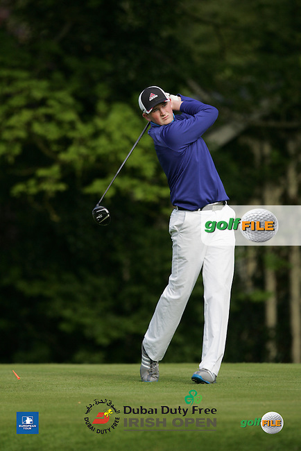 Sean Kestell during Wednesday's Pro-Am ahead of the 2016 Dubai Duty Free Irish Open Hosted by The Rory Foundation which is played at the K Club Golf Resort, Straffan, Co. Kildare, Ireland. 18/05/2016. Picture Golffile   TJ Caffrey.<br /> <br /> All photo usage must display a mandatory copyright credit as: &copy; Golffile   TJ Caffrey.