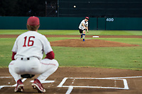 Stanford, CA - February 23, 2018: Stanford Men's Baseball defeats Rice 7-2 at Sunken Diamond.