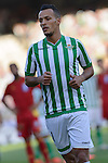 Beti's Kadir during the match between Real Betis and Recreativo de Huelva day 10 of the spanish Adelante League 2014-2015 014-2015 played at the Benito Villamarin stadium of Seville. (PHOTO: CARLOS BOUZA / BOUZA PRESS / ALTER PHOTOS)