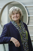 Portraits of Dr. Ingrid Daubechies, James B. Duke Professor of Mathematics and Electrical and Computer Engineering at Duke University in Durham, North Carolina, Friday, May 24, 2019  (Justin Cook for The Simons Foundation)