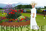Siobhain Kennedy Tournafulla right the winner of the best dressed at ladies day at  Killarney Races on Saturday