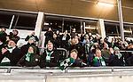 Stockholm 2015-01-16 Bandy Elitserien Hammarby IF - IFK Kung&auml;lv :  <br /> Hammarbys supportrar under matchen mellan Hammarby IF och IFK Kung&auml;lv <br /> (Foto: Kenta J&ouml;nsson) Nyckelord:  Elitserien Bandy Zinkensdamms IP Zinkensdamm Zinken Hammarby Bajen HIF IFK Kung&auml;lv supporter fans publik supporters