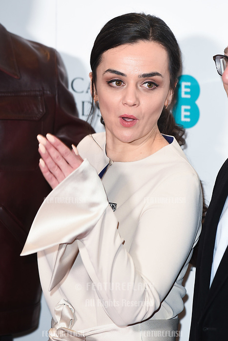 LONDON, UK. January 09, 2019: Hayley Squires at the announcement of the nominations for the BAFTA Film Awards 2019 London.<br /> Picture: Steve Vas/Featureflash