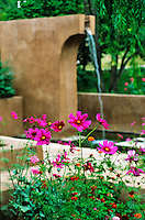 Mel Fillini garden Santa Fe photos
