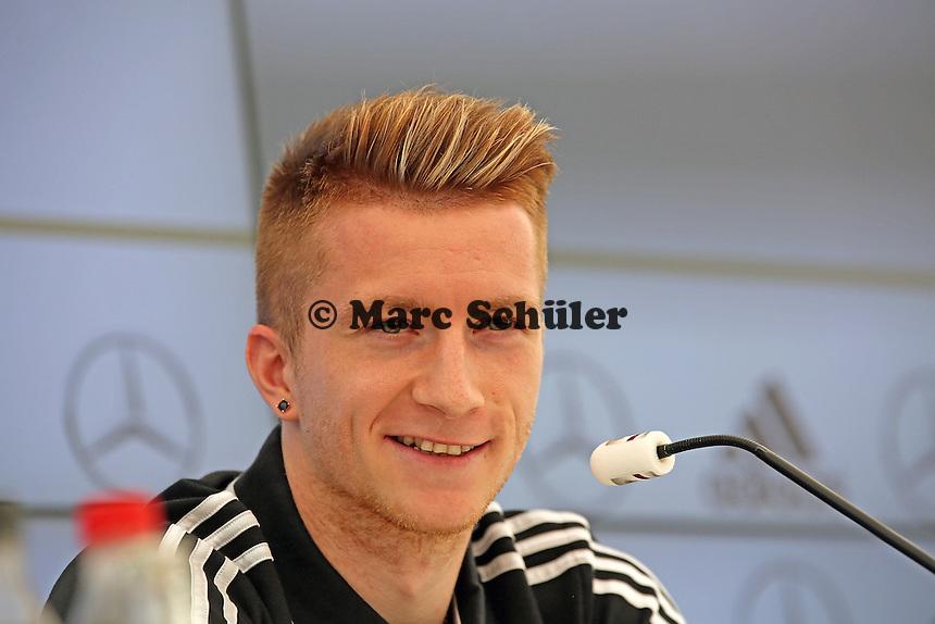 Marco Reus - Pressekonferenz der Deutschen Nationalmannschaft zur WM-Vorbereitung in St. Martin