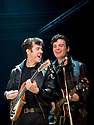 Backbeat directed by David Leveraux from Iain Softley's production for the Glasgow Citizens Theatre. With Andrew Knott as John Lennon,Daniel Healy as Paul McCartney. Opens at The Duke of Yorks Theatre on 10/10/11. CREDIT Geraint Lewis