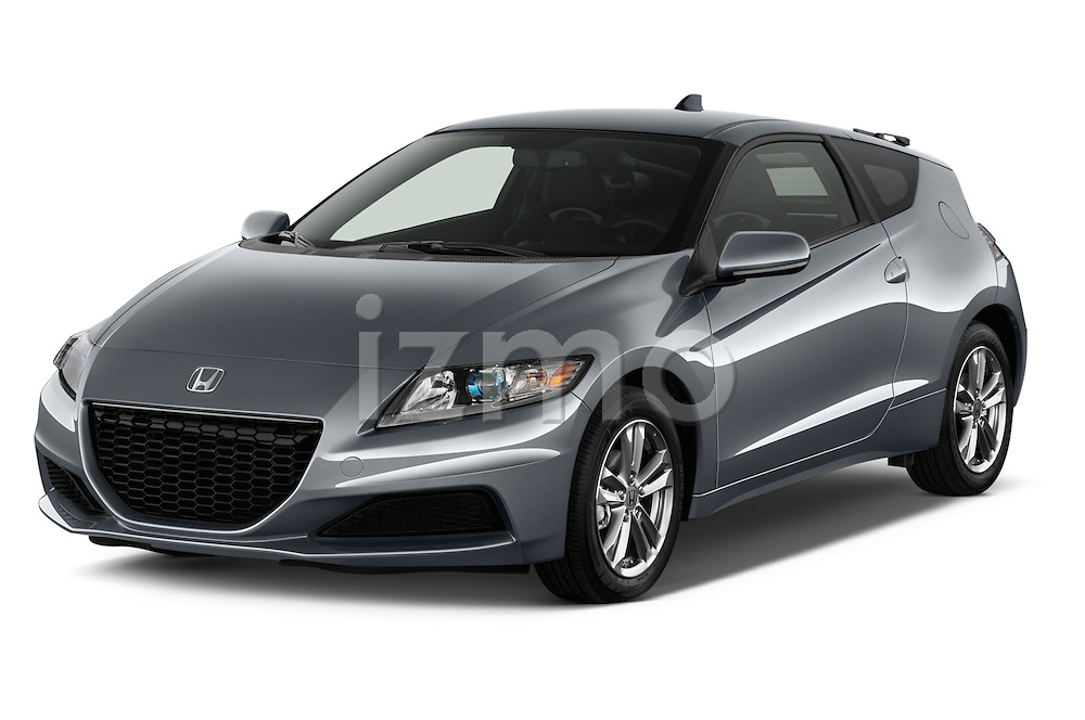 Front three quarter view of a 2013 Honda CR-Z Hybrid Hatchback