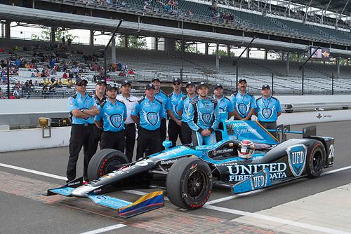21-22 May, 2016, Indianapolis, Indiana, USA<br /> Carlos Munoz  qualifying photo<br /> ©2016, Geoffrey M. Miller, LAT Photo USA