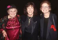 #BellaAbzug #LilyTomlin #GloriaSteinham<br /> 1991<br /> Photo By John Barrett/PHOTOlink.net