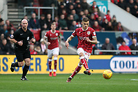 Jamie Paterson of Bristol City with the ball during Bristol City vs Norwich City, Sky Bet EFL Championship Football at Ashton Gate on 13th January 2018