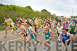 READY STADY GO: Ready,Steady, Go were members from many of the athletice clubs in kerry who took part in the County Road Race on Sunday in Ardfert..
