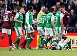 09.05.2018 Hearts v Hibs:  Kyle Lafferty and Darren McGregor