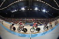 Picture by SWpix.com - 02/03/2018 - Cycling - 2018 UCI Track Cycling World Championships, Day 3 - Omnisport, Apeldoorn, Netherlands - Men's Points Race - General view