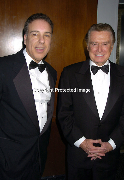 """Thomas Cantone, Regis Philbin ..at The 60th  Boys' Towns of Italy  """"Ball of the Year""""  on..April 8, 2005 at The Waldorf Astoria Hotel. ..Photo by Robin Platzer, Twin Images"""