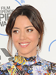 Aubrey Plaza arriving at the 30th Film Independent Spirit Awards 2015 held at Santa Monica Beach CA. February 21, 2015