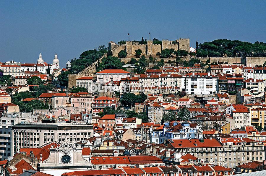 Castelo São Jorge em Lisboa. Portugal. 2005. Foto de Rogério Reis.