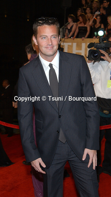 Matthew Perry arrives at the 29th People's Choice Awards at the Pasadena Civic Auditorium in Pasadena, CA, January 12, 2003.           -            PerryMatthew04A.jpg
