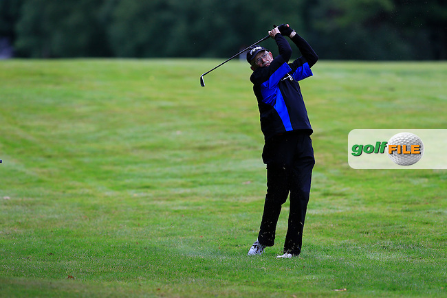 Niall Barry (Grange) during the semi final of the Pierce Purcell Shield 2015 Leinster branch Sponsored by AIG, Portarlington Golf Club, Portarlington, Co Laois.  26/07/2015.<br /> Picture: Golffile | Fran Caffrey<br /> <br /> <br /> All photo usage must carry mandatory copyright credit (&copy; Golffile | Fran Caffrey)