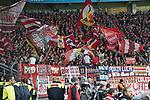 13.01.2018, BayArena, Leverkusen , GER, 1.FBL., Bayer 04 Leverkusen vs. FC Bayern M&uuml;nchen<br /> im Bild / picture shows: <br /> Fans, freundlich, Stimmung, farbenfroh, Nationalfarbe, geschminkt, Emotionen, bayern<br /> <br /> <br /> Foto &copy; nordphoto / Meuter