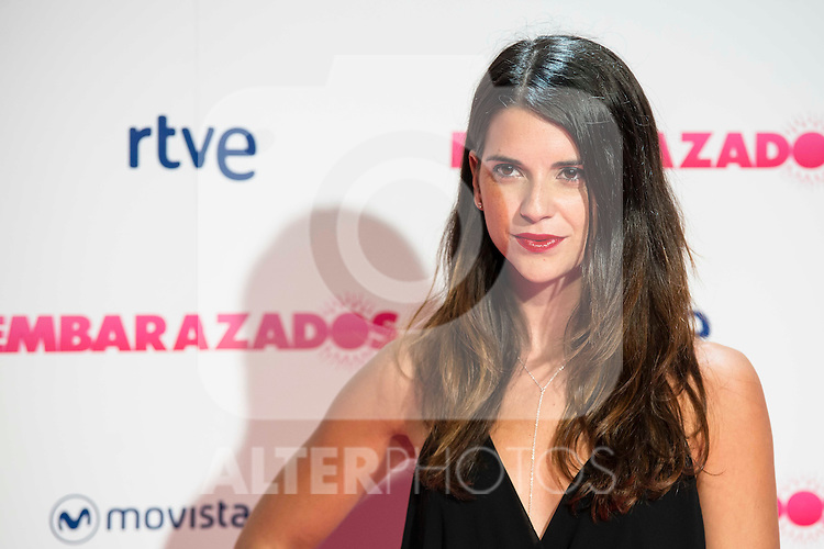 Ana Caldas attends to the premiere of the film &quot;Embarazados&quot; at Capitol Cinemas in Madrid, January 27, 2016.<br /> (ALTERPHOTOS/BorjaB.Hojas)