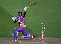 141122 T20 Cricket - Firebirds v Kings
