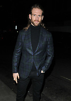 Craig McGinlay at the LFW (Men's) a/w2018 GQ Dinner, Berners Tavern, The London Edition Hotel, Berners Street, London, England, UK, on Monday 08 January 2018.<br /> CAP/CAN<br /> &copy;CAN/Capital Pictures