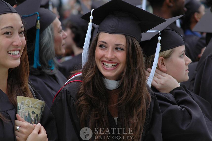 Undergraduate Commencement 2004