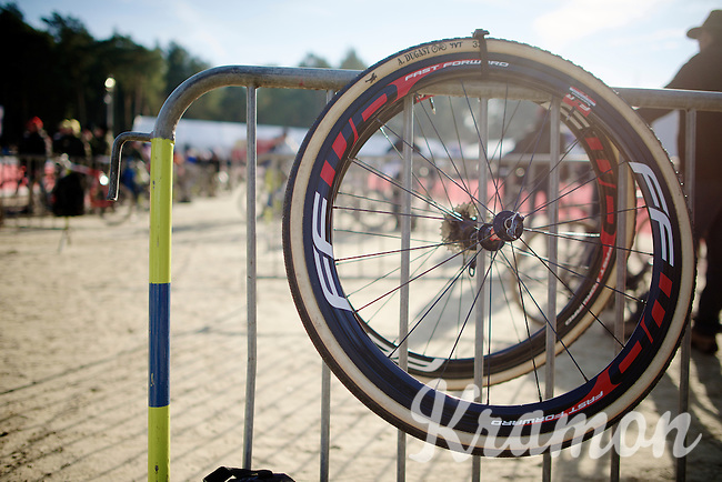 wheels at the ready<br /> <br /> U23 race<br /> Krawatencross <br /> bpost bank trofee 2015