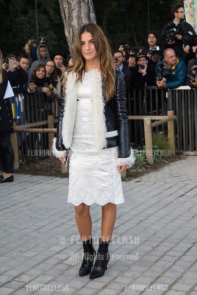 Joana Preiss attend Louis Vuitton Show Front Row - Paris Fashion Week  2016.<br /> October 7, 2015 Paris, France<br /> Picture: Kristina Afanasyeva / Featureflash