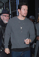 NEW YORK, NY - NOVEMBER 8: Mark Wahlberg seen leaving Good Morning America after promoting his new movie Daddy;s Home 2 in New York City on November 8, 2017. Credit: RW/MediaPunch