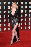 Sophie Turner<br /> at the 2017 BAFTA Film Awards held at The Royal Albert Hall, London.<br /> <br /> <br /> ©Ash Knotek  D3225  12/02/2017