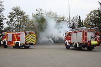 Brand wird simuliert für die Jugendfeuerwehr