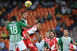 Atletico Nacional empato 1x1 con Independiente Santa Fe en la liga  postobon de el torneo finalizcion del futbol de Colombia