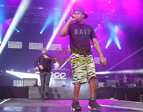 BIRMINGHAM, UNITED KINGDOM - AUGUST 30: Dizzee Rascal performs onstage during day 1 of Fusion Festival 2014 on August 30, 2014 in Birmingham, England.<br /> CAP/ROS<br /> &copy;Steve Ross/Capital Pictures