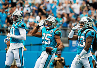 Photography of the Carolina Panthers v. The Jacksonville Jaguars at Bank of America Stadium in Charlotte, NC.<br /> <br /> Charlotte Photographer - PatrickSchneiderPhoto.com