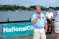 26  July, 2009, Trenton, Michigan USA.National City Bank driver Kris Shepard (#46)..©2009 F.Peirce Williams USA.SST-120 class