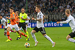 06.09.2019, Volksparkstadion, HAMBURG, GER, EMQ, Deutschland (GER) vs Niederlande (NED)<br /> <br /> DFB REGULATIONS PROHIBIT ANY USE OF PHOTOGRAPHS AS IMAGE SEQUENCES AND/OR QUASI-VIDEO.<br /> <br /> im Bild / picture shows<br /> <br /> Marco Reus (Deutschland / GER #11)<br /> <br /> <br /> während EM Qualifikations-Spiel Deutschland gegen Niederlande  in Hamburg am 07.09.2019, <br /> <br /> Foto © nordphoto / Kokenge