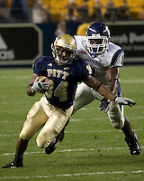 22 September 2007: Pitt running back LaRod Stephens-Howling (34)..The Connecticut Huskies defeated the Pitt Panthers 34-14 on September 22, 2007 at Heinz Field in Pittsburgh, Pennsylvania.