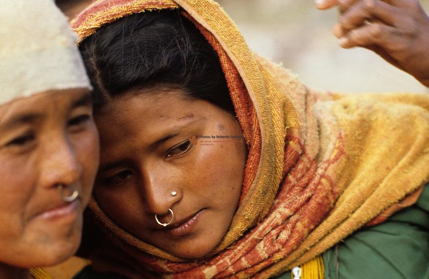 Portrait of Nepali Women
