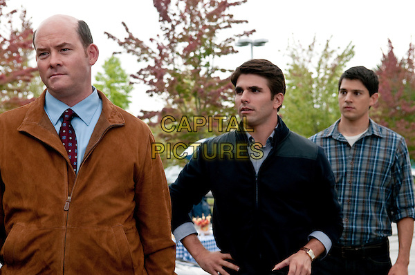 DAVID KOECHNER, MILES FISHER & NICHOLAS D'AGOSTO.in Final Destination 5.*Filmstill - Editorial Use Only*.CAP/FB.Supplied by Capital Pictures.